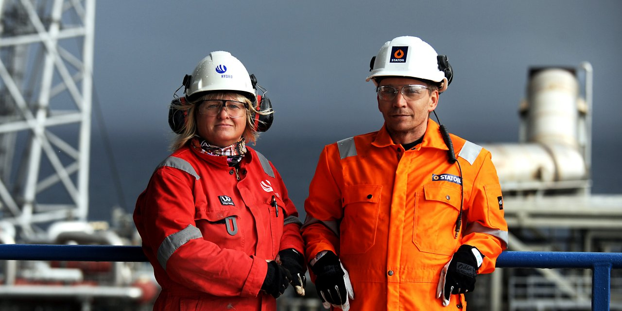 two offshore employees from Statoil and Hydro