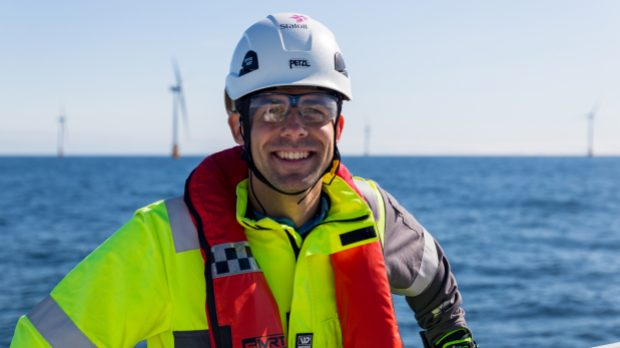 Halvor (29) is heading one of the world's most pioneering renewable energy projects