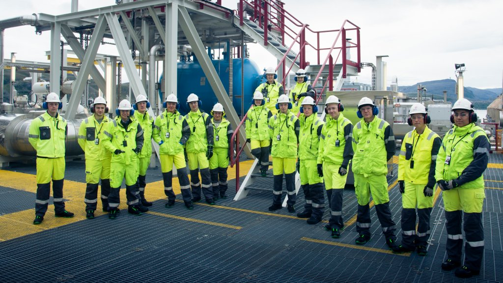 Melkøya employees