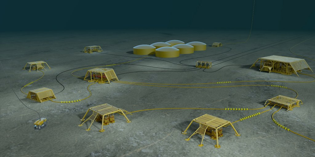 subsea cluster