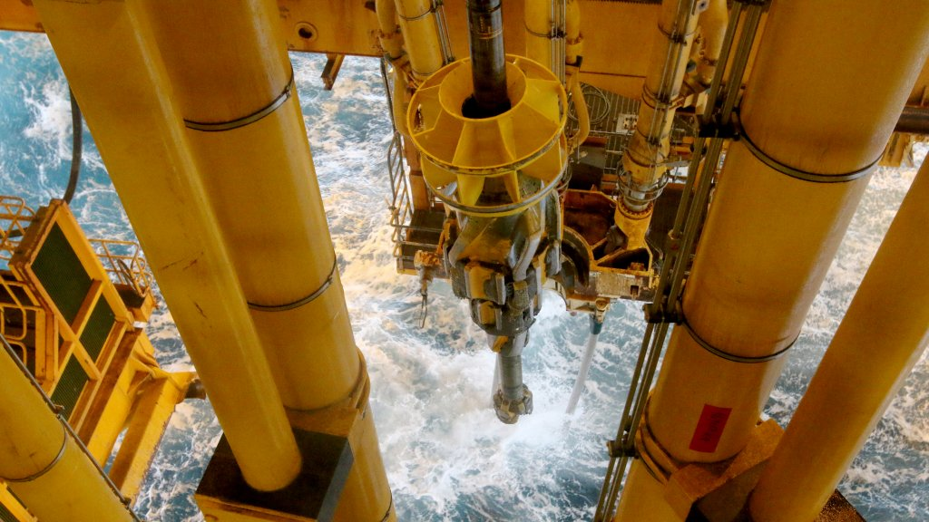 Drilling at the Johan Sverdrup field