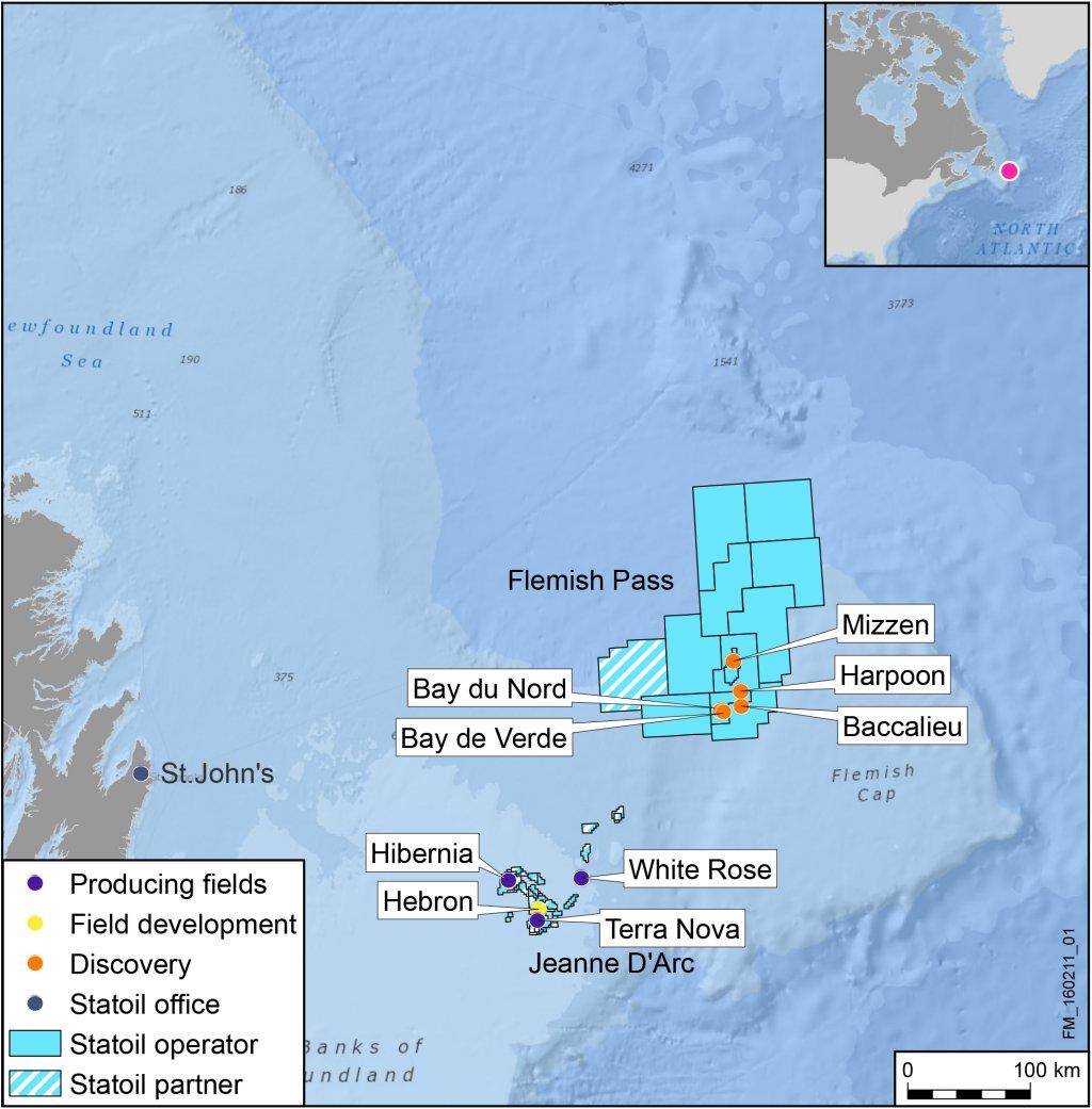Petroleum Site Map Example: Statoil Completes Efficient Exploration Drilling Campaign