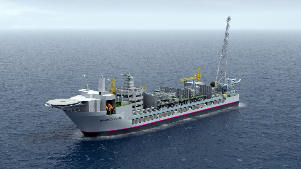 Illustration of the Johan Castberg FPSO