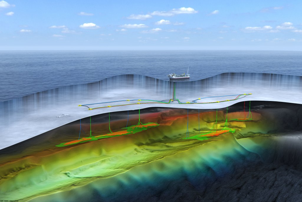 Johan Castberg field illustration