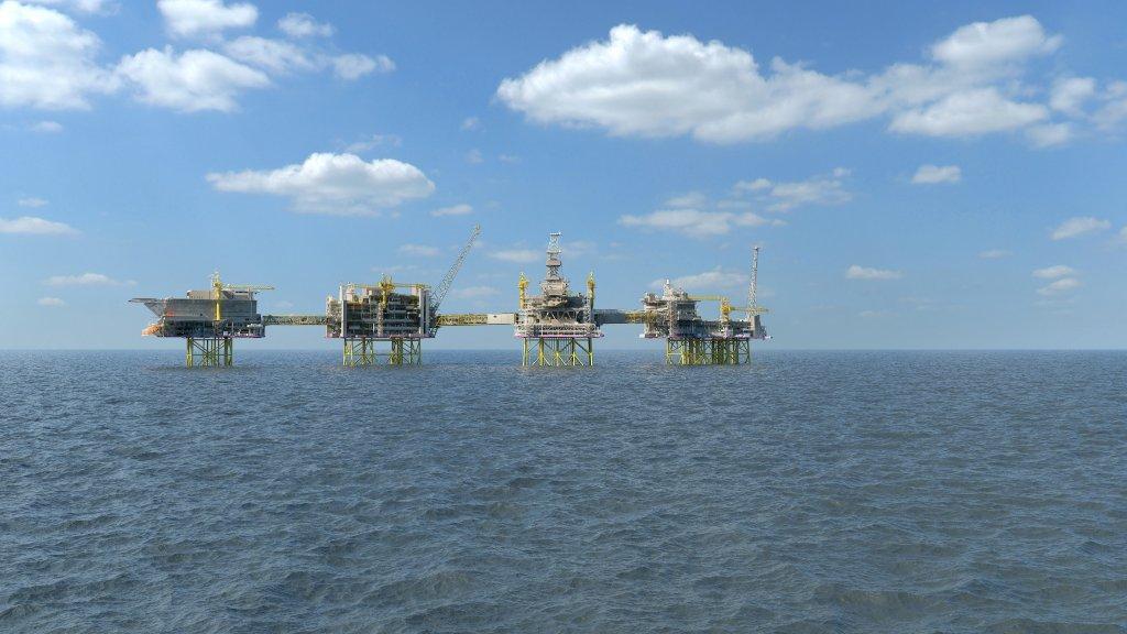 wheatstone offshore hookup