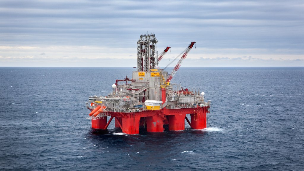 The Transocean Spitsbergen drilling rig