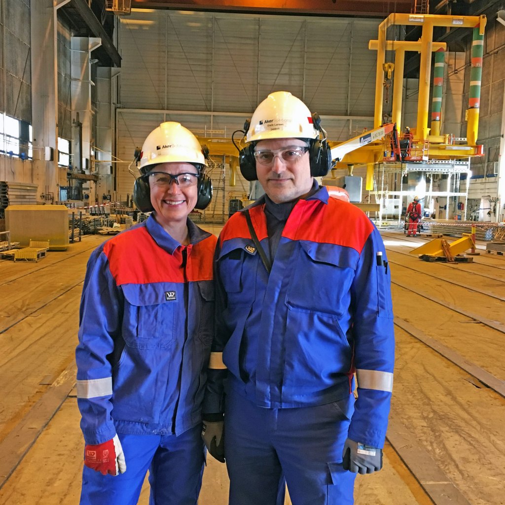 Annbjørg Skjerve and Gisle Larsen
