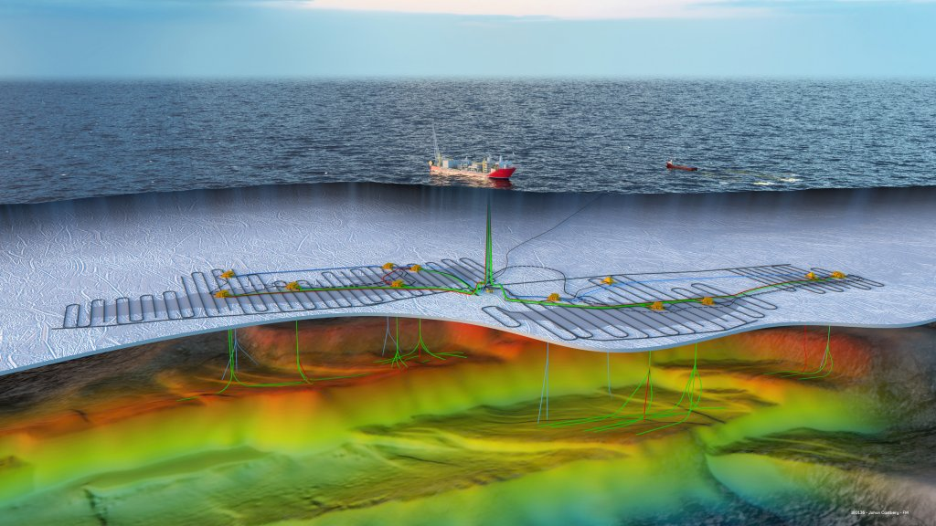 Illustration of Johan Castberg PRM