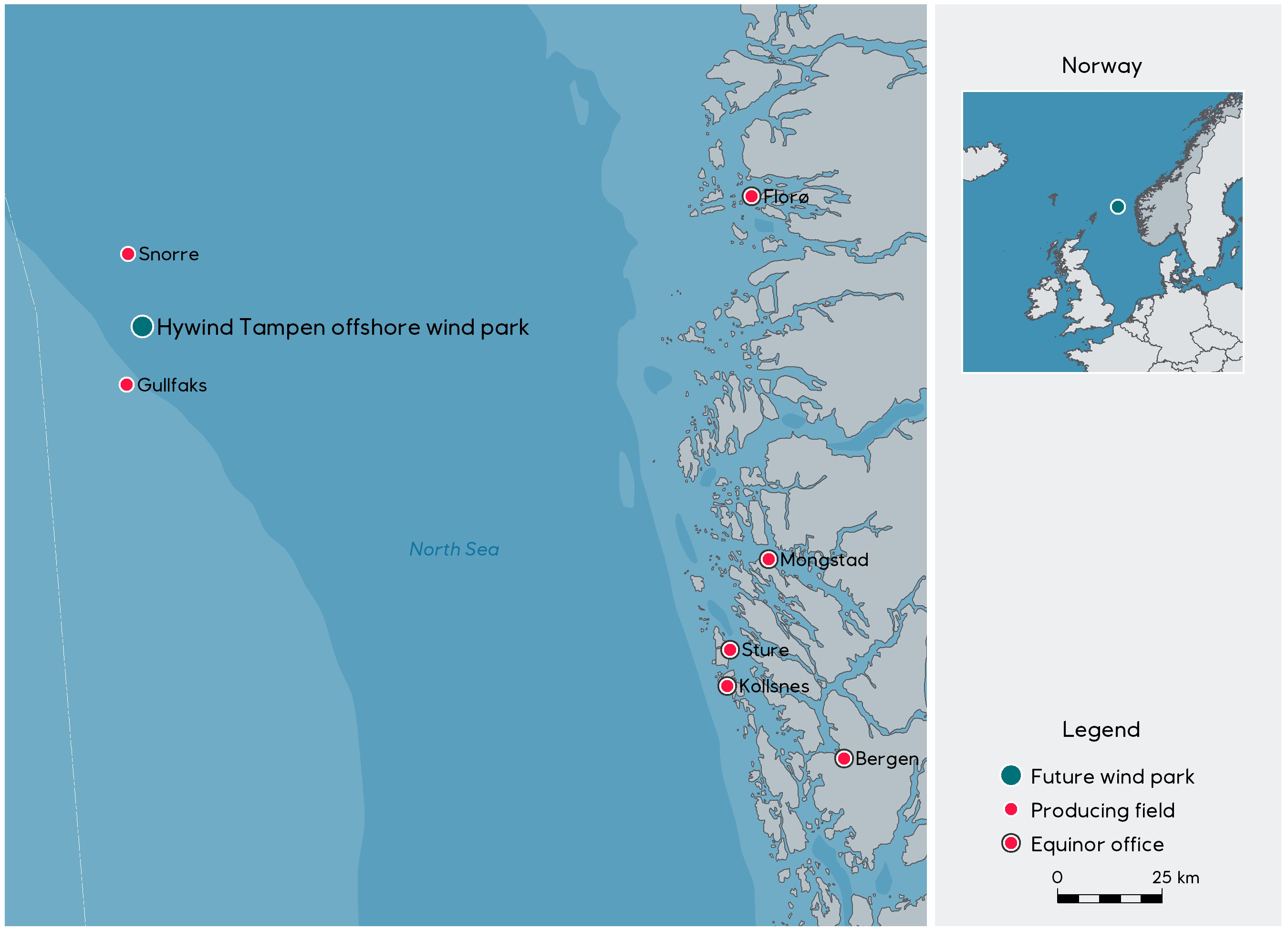 Wind farm being considered at Snorre and Gullfaks - Wind farm being