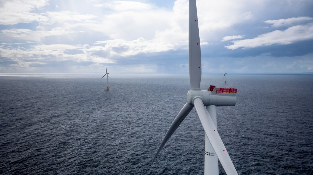 Overview of the Hywind floating wind farm