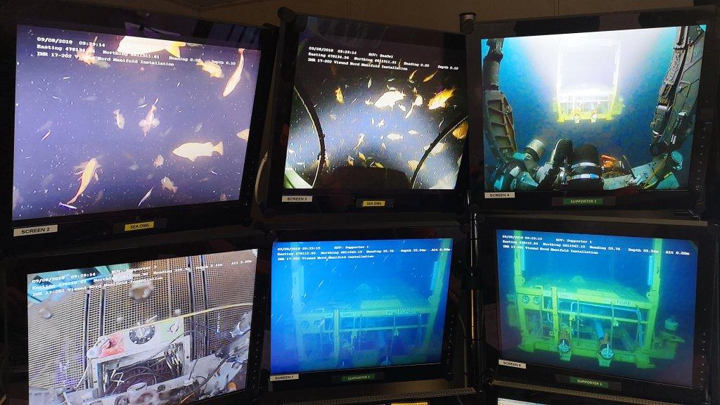Underwater photo of Visund Nord template