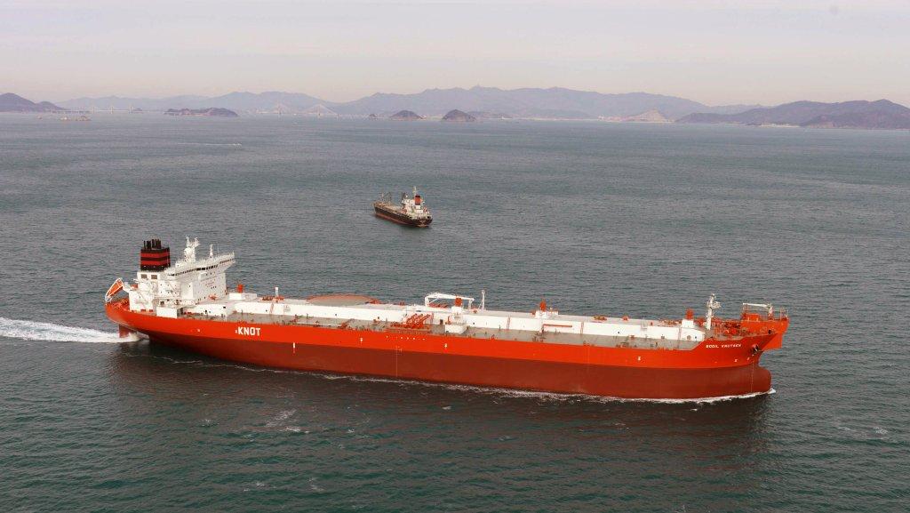 The Bodil Knutsen vessel