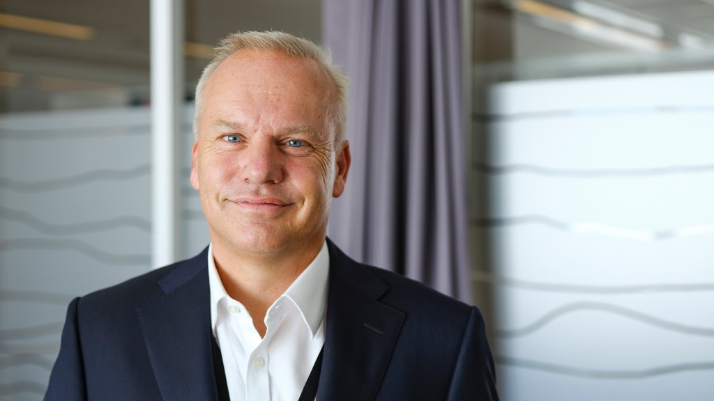 Photo of CEO Anders Opedal