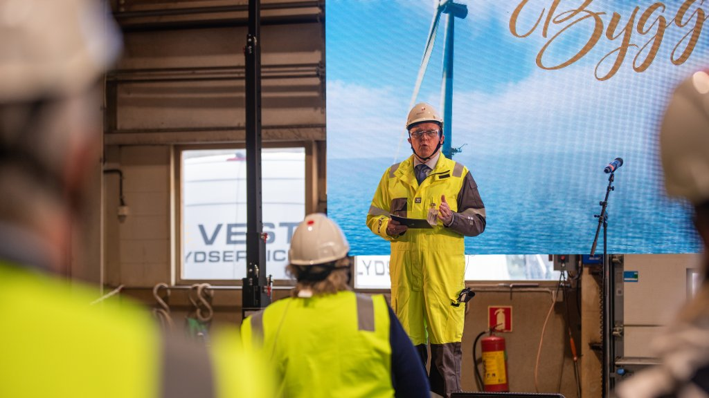 Photo of CEO Eldar Sætre