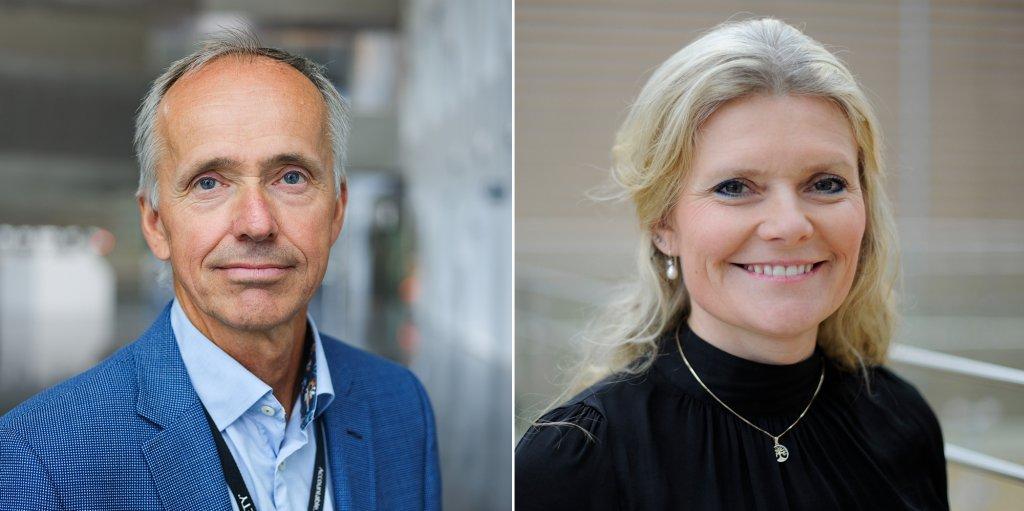 Photos of Sverre Overå and Peggy Krantz-Underland