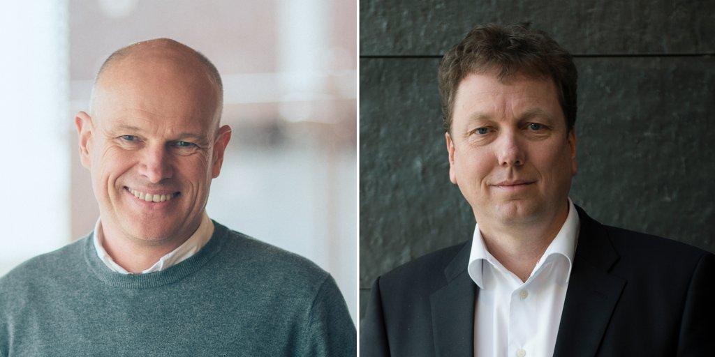 Photo of Arne Sigve Nylund and Kjetil Hove