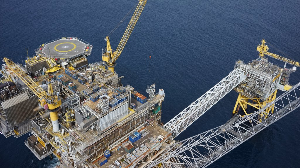 The Heimdal platform in the North Sea