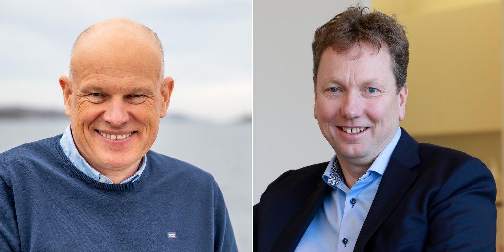 Arne Sigve Nylund (left) and Kjetil Hove - portraits