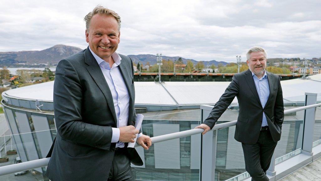 Ole Ertvaag (left) and Pål Eitrheim