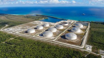 Bahamas - South Riding Point oil terminal